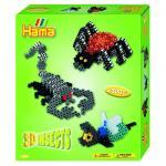 Margele 3D Insecte Hama Midi in cutie