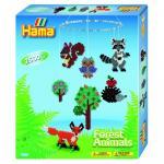 Margele Animale de padure Hama Midi in cutie