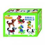 Margele Animale mici Hama Midi in cutie cadou mic