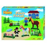 Margele Ferma cu ponei Hama Midi in cutie