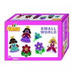 Margele Printese cu floricele Hama Midi in cutie cadou mic