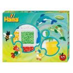 Margele de calcat Animale colorate Hama Midi in cutie de activitate