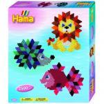Margele de calcat Animale diamant Hama Midi in cutie de cadou