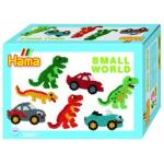 Margele de calcat Dinozauri Midi in cutie cadou mic