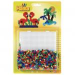 Margele de calcat Flamingo Midi in blister Mare