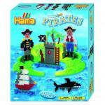 Margele de calcat Pirati Midi in cutie cadou