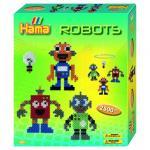 Margele de calcat Roboti Midi in cutie cadou