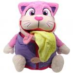 Mascota 2 in 1 Tummy Stuffers Pisica Roz