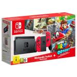 Nintendo switch console super Mario odyssey edition (with red joy-cons) - gdg
