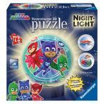 Puzzle 3D Eroi in Pijmale M2