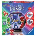 Puzzle 3D Eroi in Pijamale Motiv 1