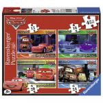 Puzzle Disney Cars 4 buc in cutie 12/16/20/24 piese