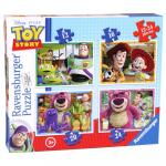 Puzzle Toy Story 4 buc in cutie 12/16/20/24 piese