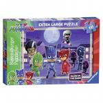 Puzzle Eroi in Pijamale 60 piese