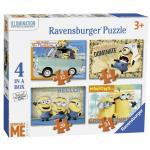 Puzzle Minioni 12/16/20/24piese