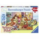 Puzzle Winnie The Pooh 2x24 piese