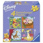 Puzzle Winnie The Pooh 6/9/12/16 piese