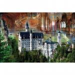 Puzzle 1000 piese Castelul Neuschwanstein