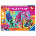 Puzzle Trolls 3X49 Piese