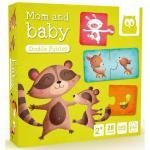 Puzzle animalute mamica si copilul