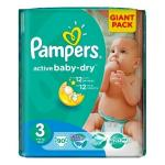 Scutece Pampers Giant Pack nr. 3 4-9kg 90 buc
