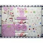 Set complet pentru bebelusi S8 roz