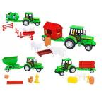 Tractor cu Remorca si accesorii Globo Spidko