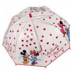 Umbrela ploaie de inimioare colectia Minnie Mouse