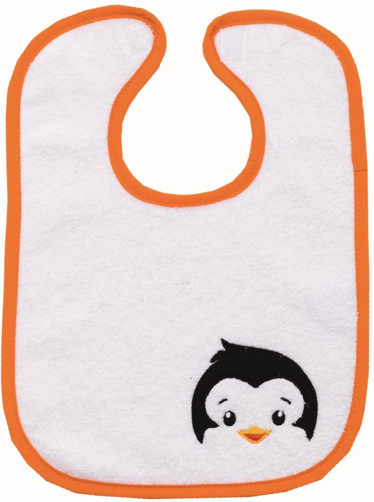 Baveta bumbac cu arici 28x34 cm pinguin Fillikid