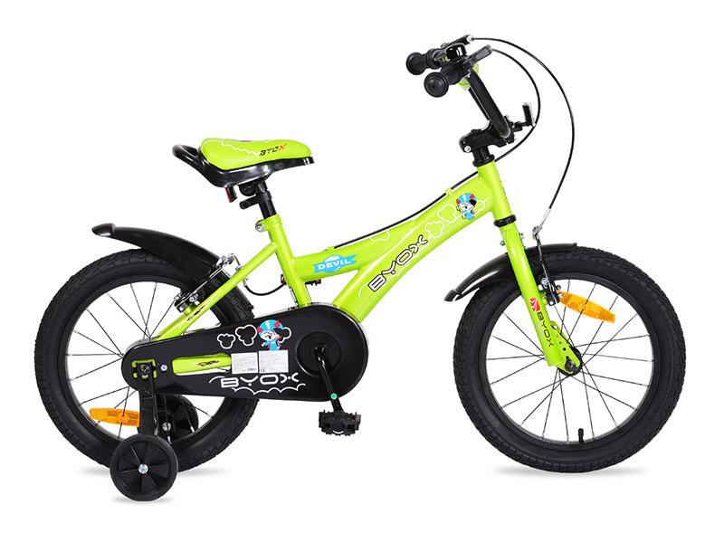 Bicicleta Copii Byox 16 Devil Verde