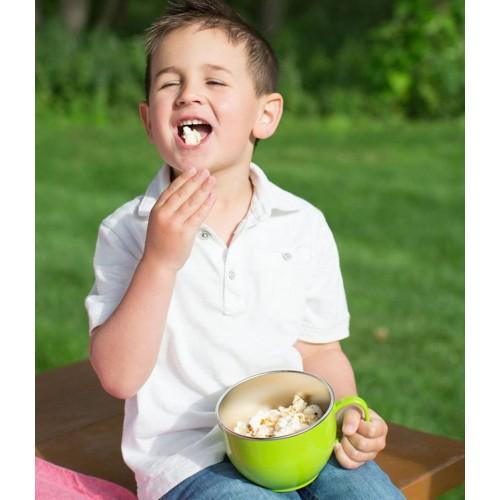 Bol de invatare Smart Dinner Bowl Blue