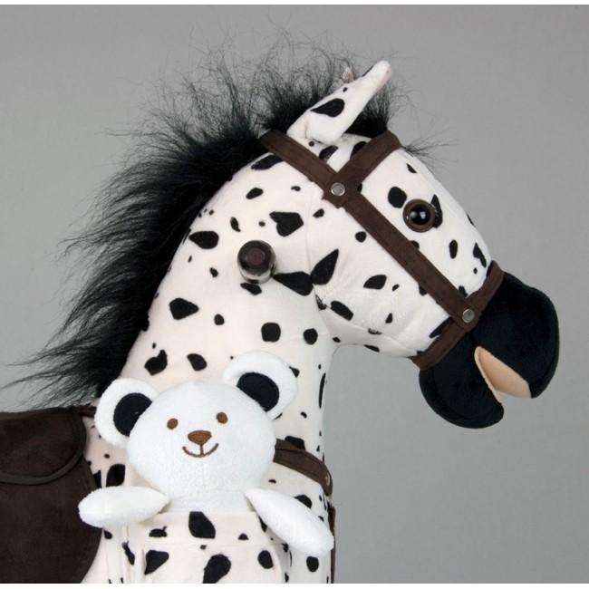 Calut balansoar Mustang Black Dot