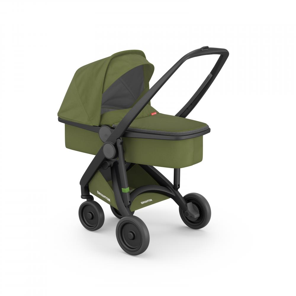 Carucior 2 in 1 Black Olive 100 Ecologic