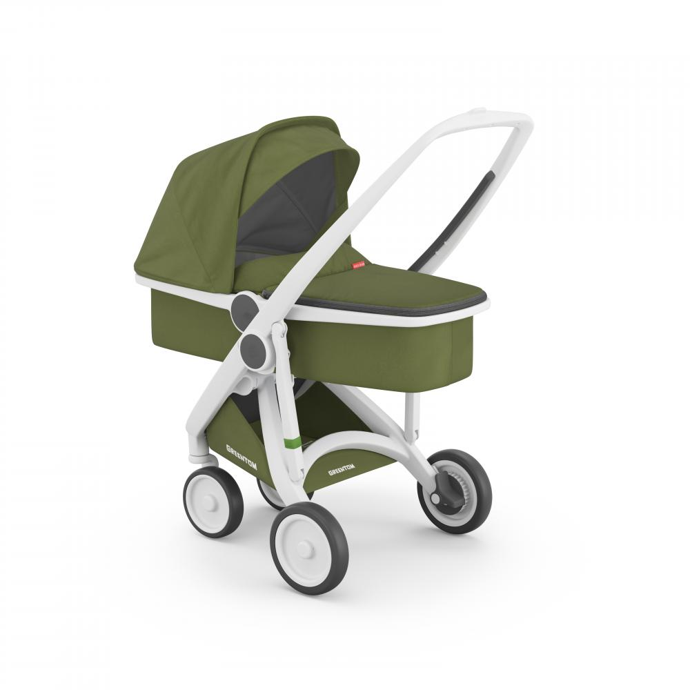 Carucior 2 in 1 White Olive 100 Ecologic
