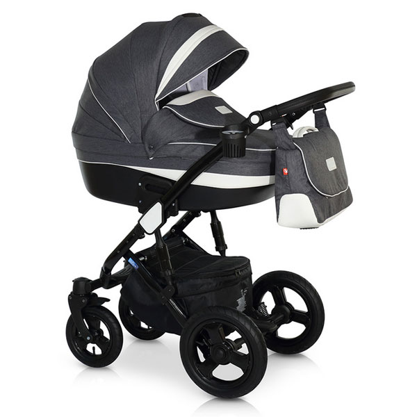Carucior 3 in 1 Zen Black