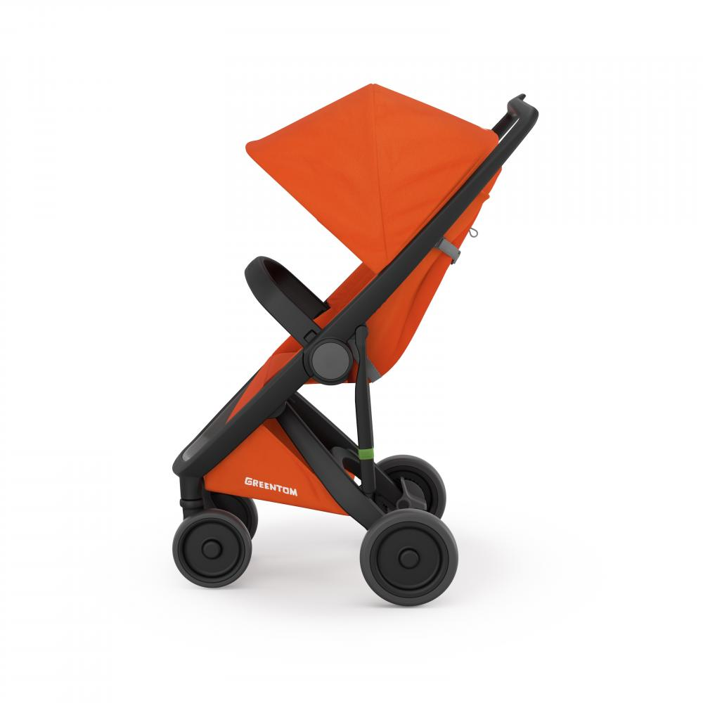 Carucior Classic Upp 100 Ecologic Black Orange