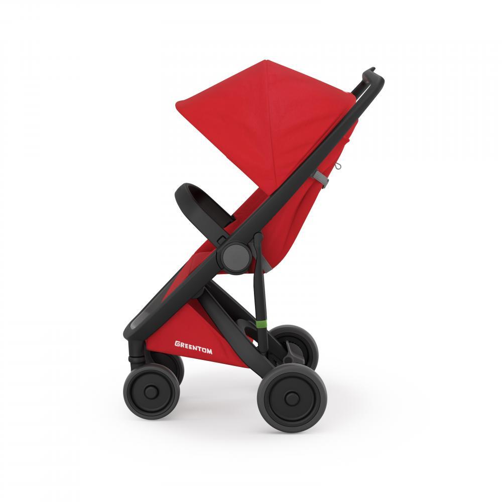 Carucior Classic Upp 100 Ecologic Black Red