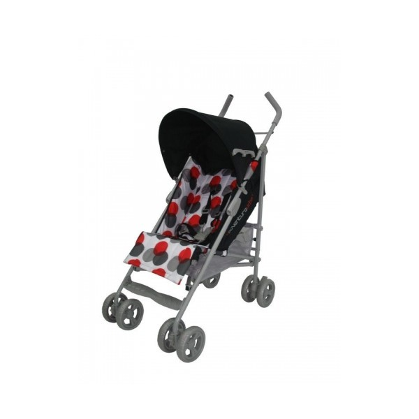 Carucior Urban Buggy 5 Black Red