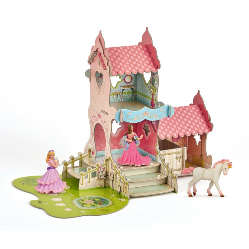 Set castel+3 figurine
