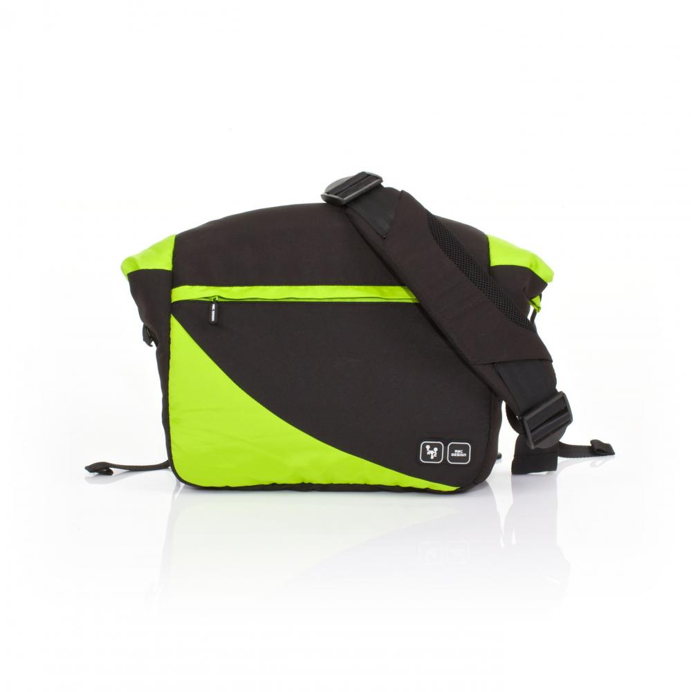 Geanta carucior Courier Lime 2015 Abc Design