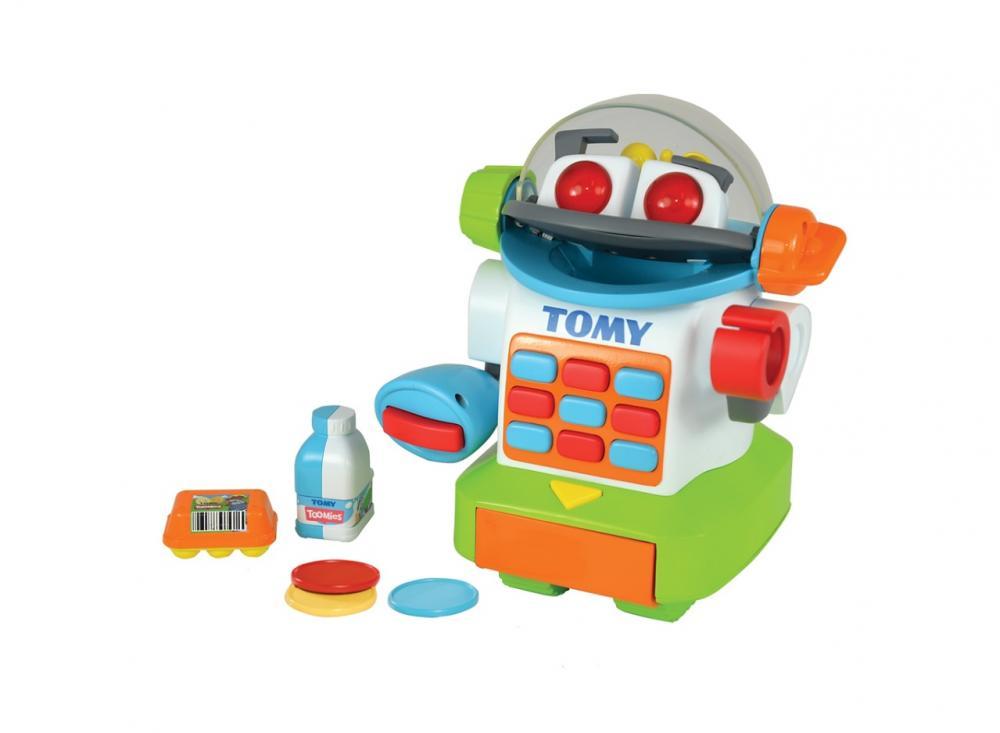 Robotelul ShopBot la cumparaturi