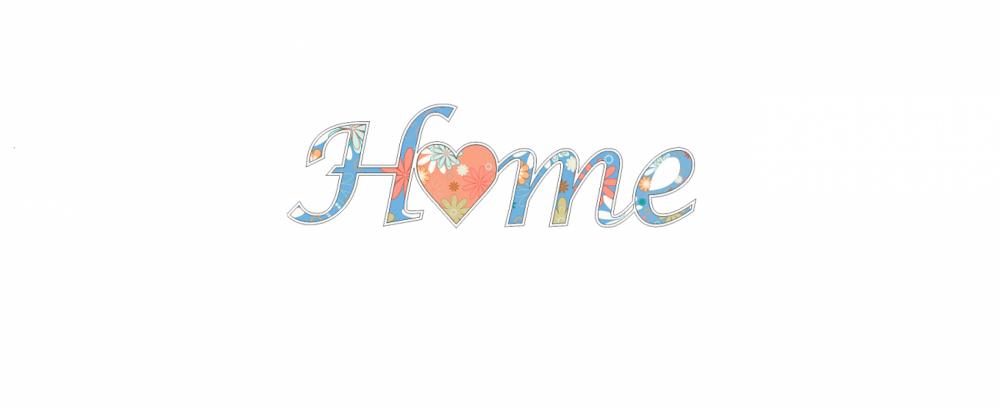 Litere decorative Home