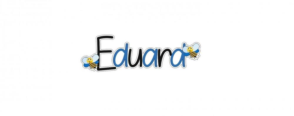 Litere personalizate Eduard