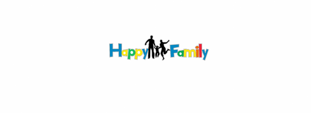 Litere decorative Happy Family