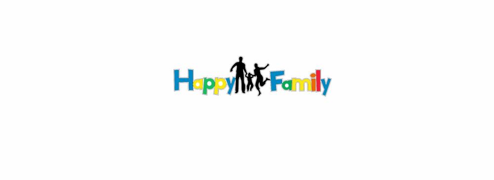Litere decorative Happy Family