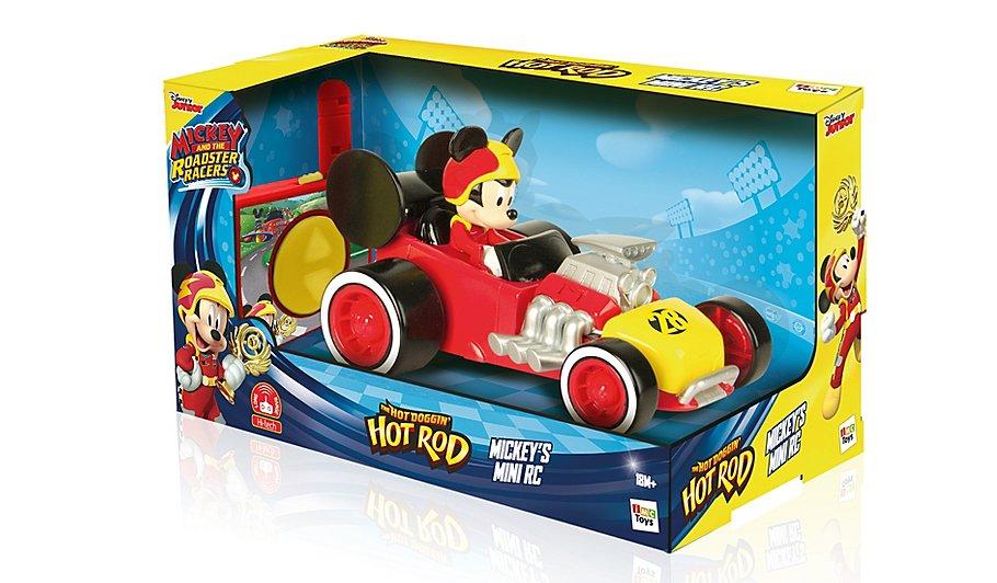 Masinuta RC Roadster Racers Mickey 2,4 GHZ
