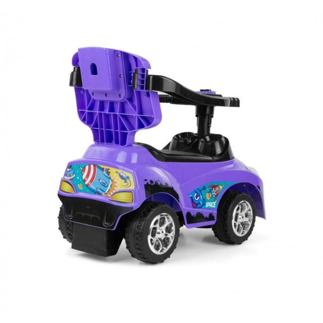 Masinuta pentru copii 3 in 1 Happy Violet