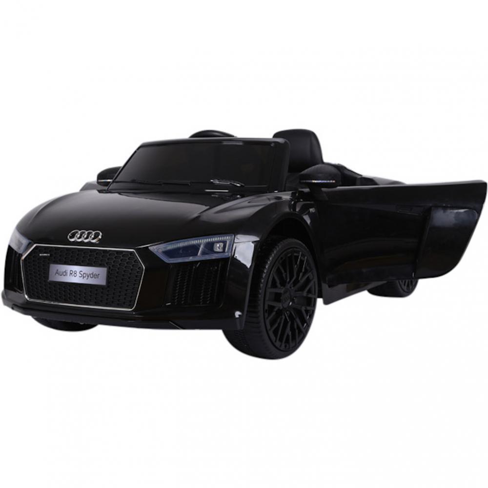 Masinuta electrica cu telecomanda Audi R8 Spyder Black - 7
