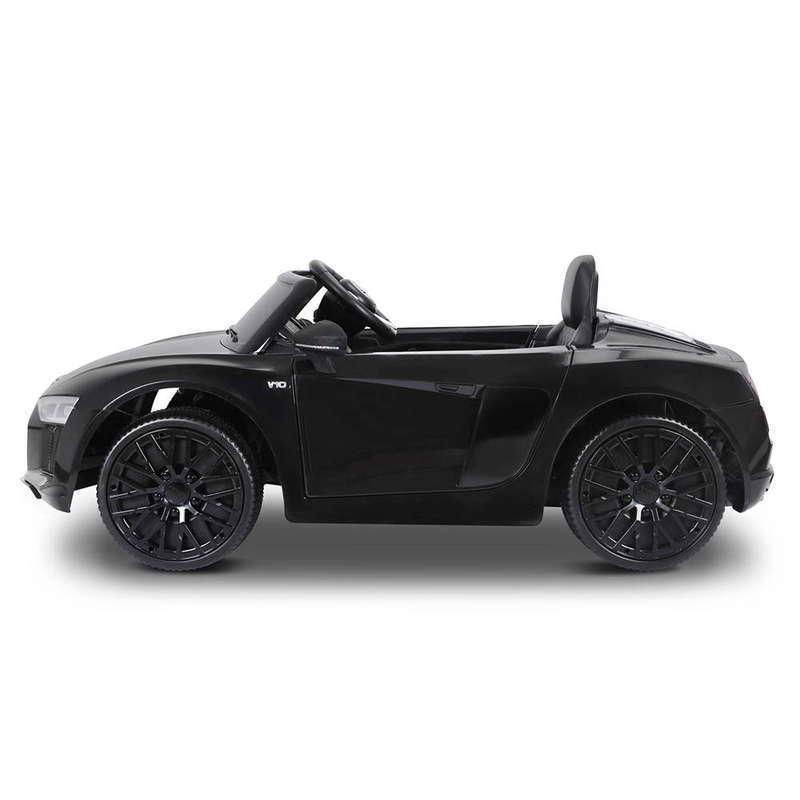Masinuta electrica cu telecomanda Audi R8 Spyder Black