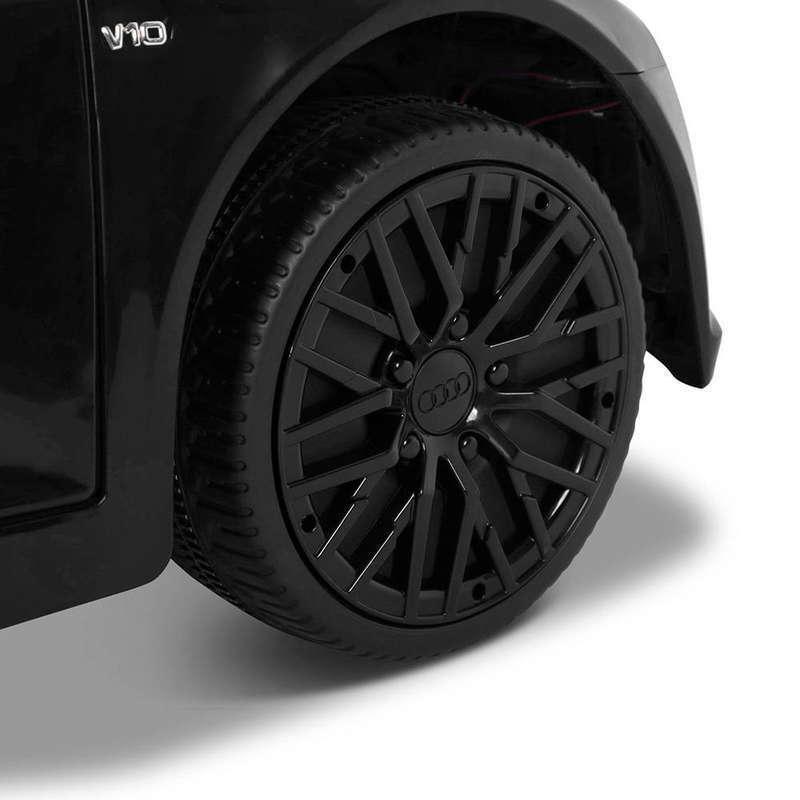 Masinuta electrica cu telecomanda Audi R8 Spyder Black - 1